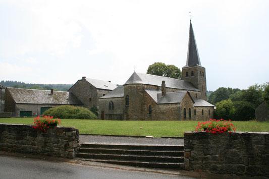Kerk - Wéris - Ardennen België