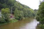Ourthe - Sy - Ardennen België