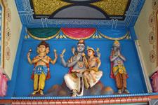 Tamil tempel, Grand Baie