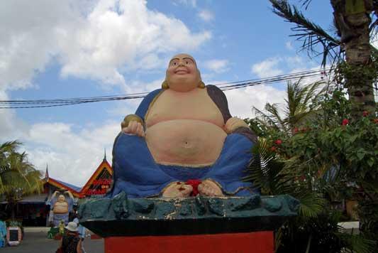 Buddha - Bazar Grand Baie - Mauritius